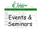 Click here to set-up Events & Seminars