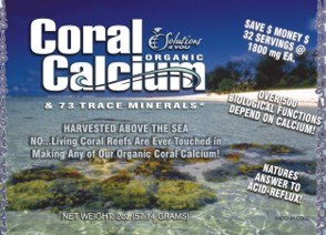 Coral Calcium (Organic Raw Powder) 100% Above the Sea Harvested (NO Additives or Fillers