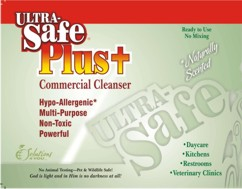Click here to see the Ultra Safe Plus+ Commercial Cleanser products