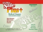 *Ultra-Safe Plus+ medical cleanser